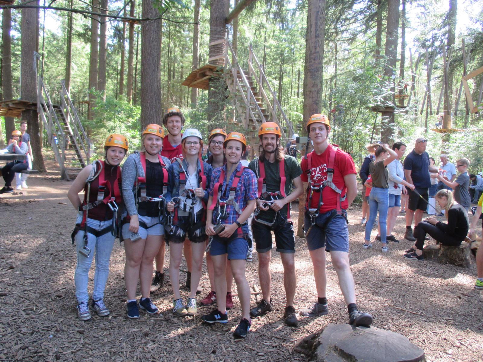 Klimmen met de Pivo's van Scouting Boxtel