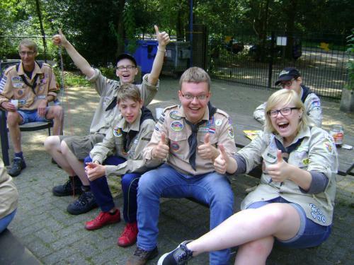 Programma met de Scout Angels