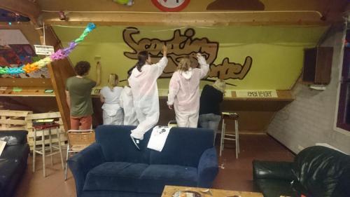Schilderen met de Pivo's van Scouting Boxtel